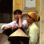 Woman In Old Town, Hanoi